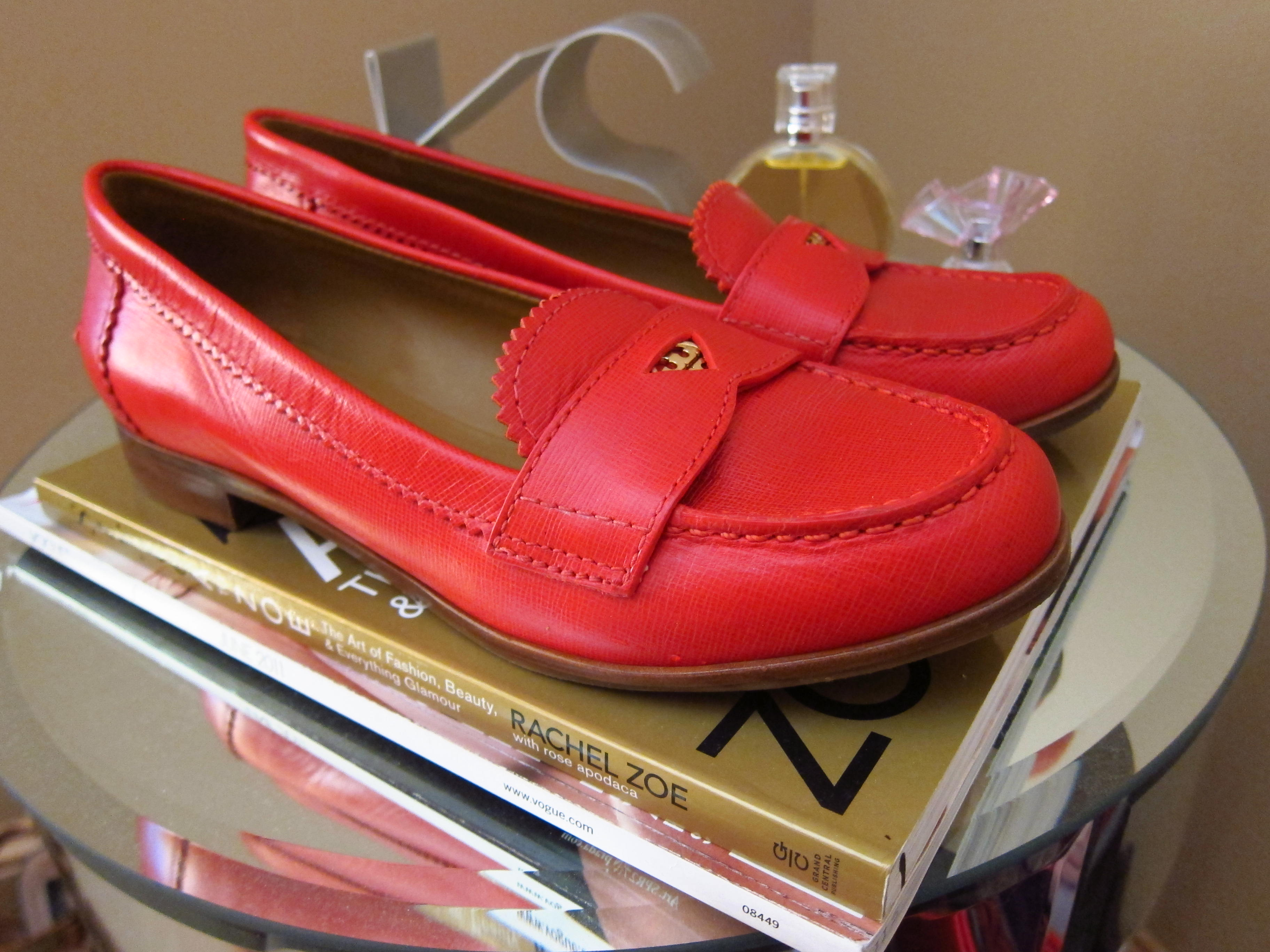 e0f395c94b8  tory burch penny loafers