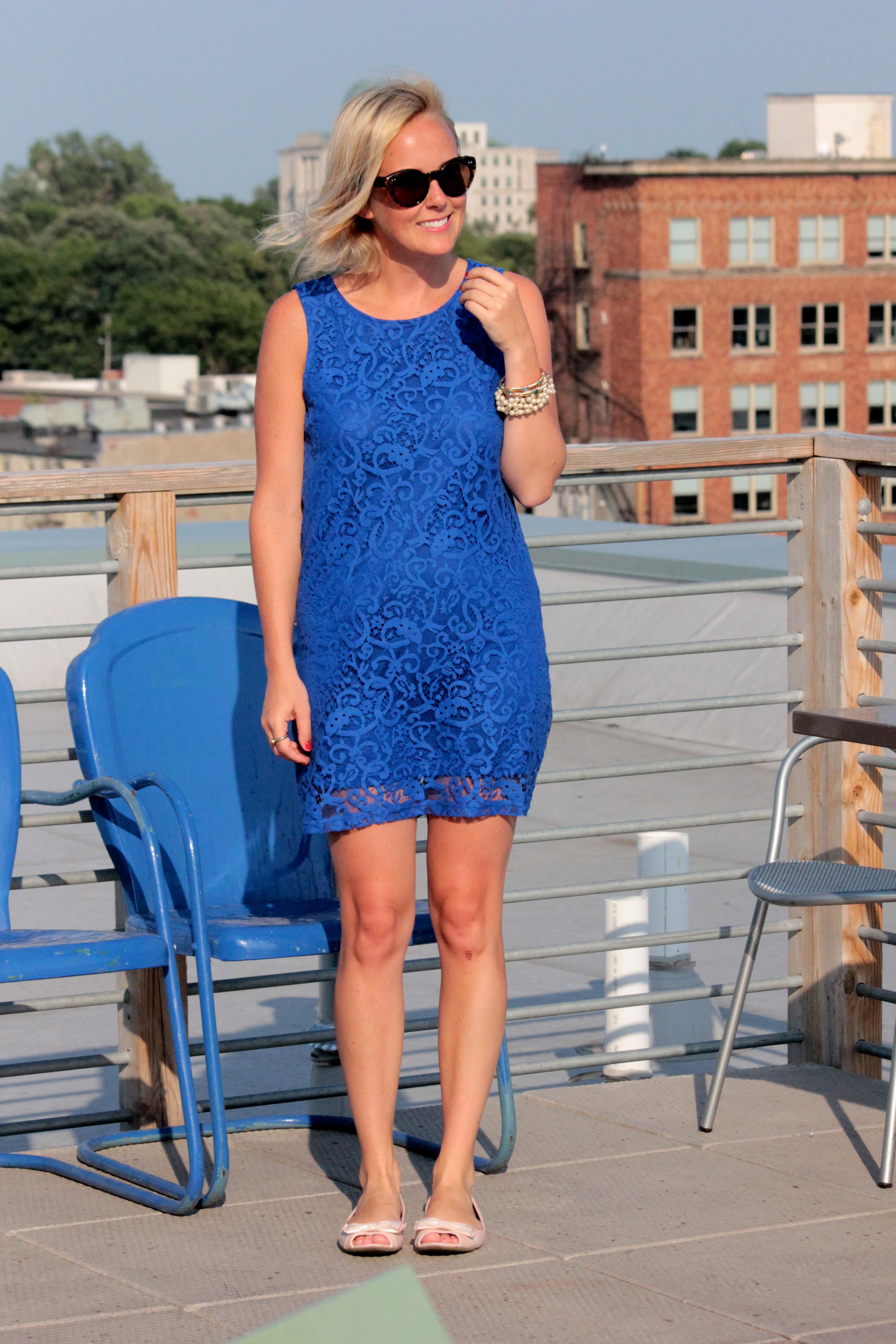 Blue Dress Heels